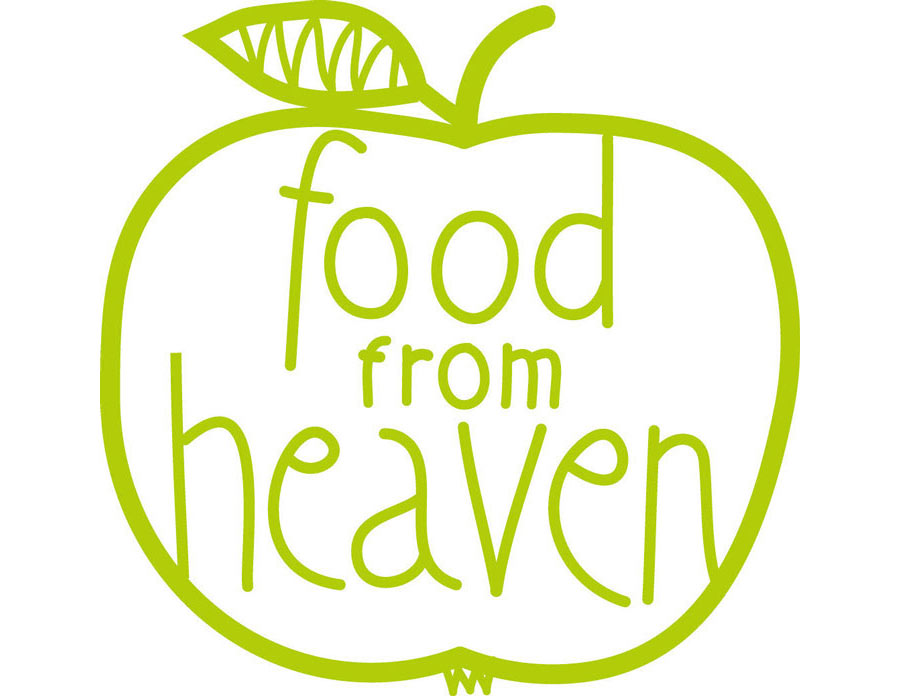 Logo food from heaven.